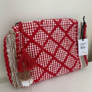 Amuse Society woven clutch
